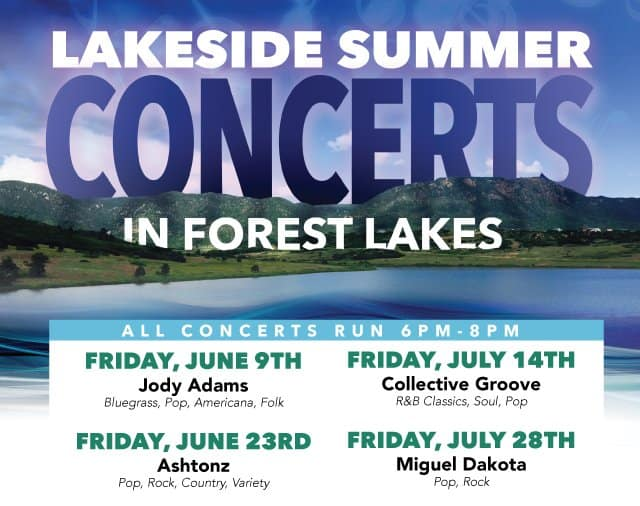 2017 Forest Lakes Summer Concert Series