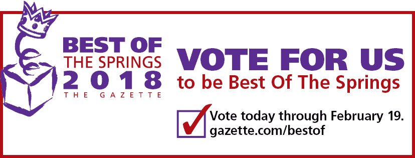 Online Voting for the Gazette's 2018 Best of the Springs begins!