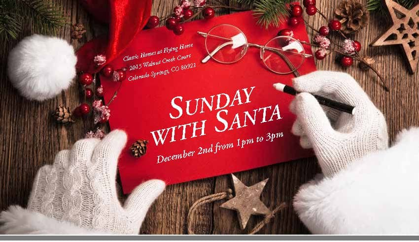 Sunday with Santa in Flying Horse